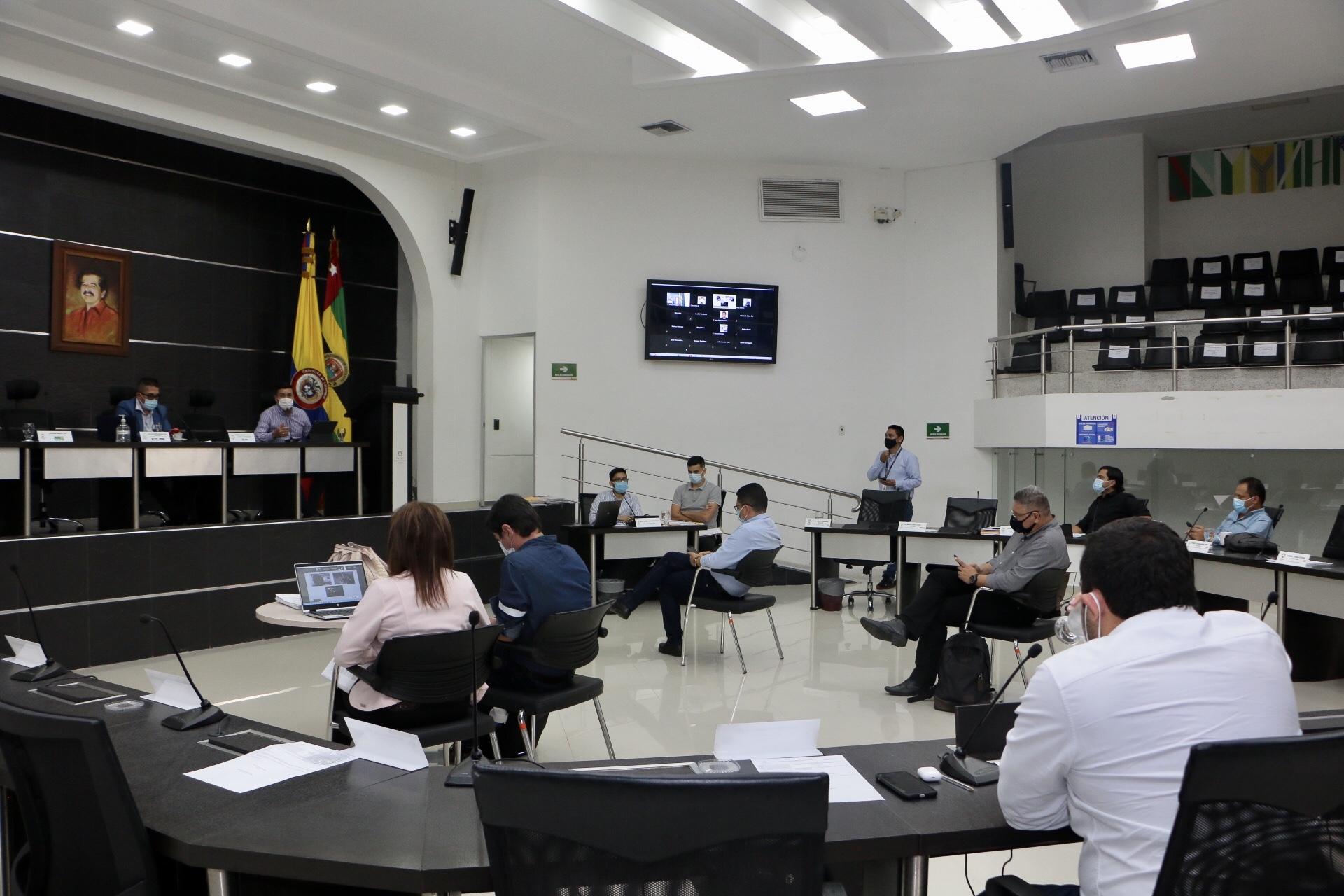 Asamblea Departamental tercer debate el proyecto de ordenanza 001 de 2021