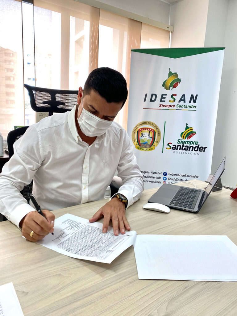Convenio interadministrativo entre el IDESAN y la Secretaría de Vivienda