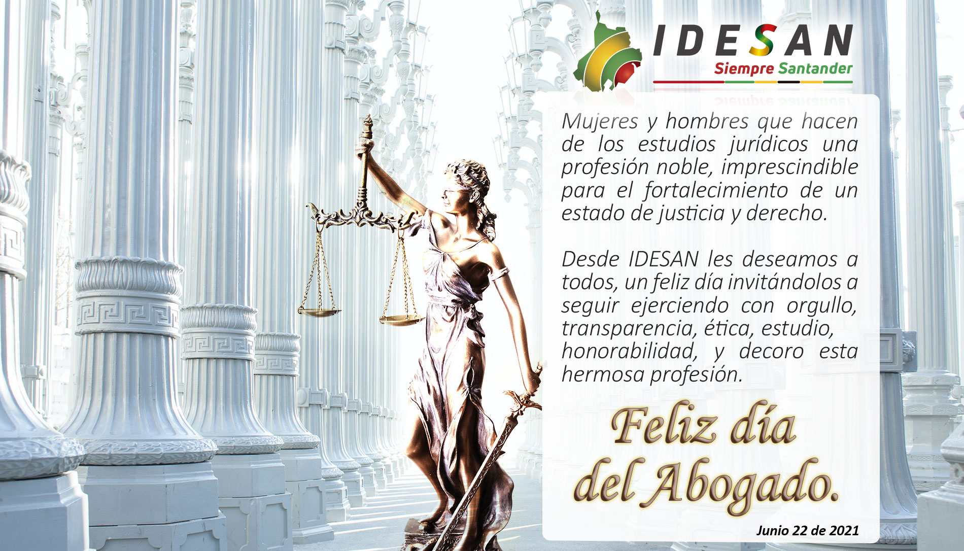 Día del abogado IDESAN 2021
