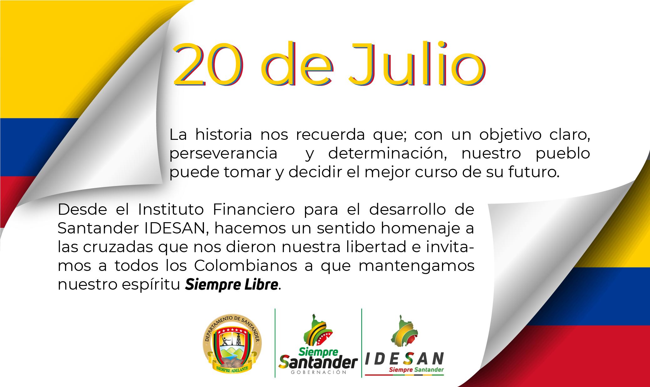 20 de Julio IDESAN