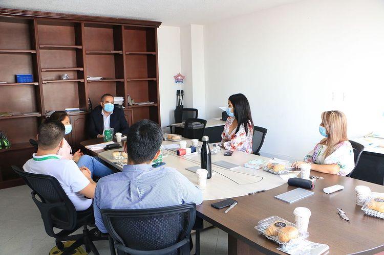 Mesa con el secretario del interior departamental 01