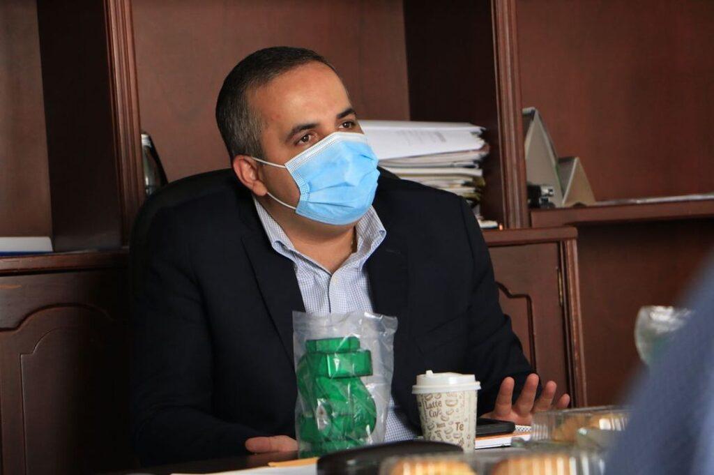 Mesa con el secretario del interior departamental 02