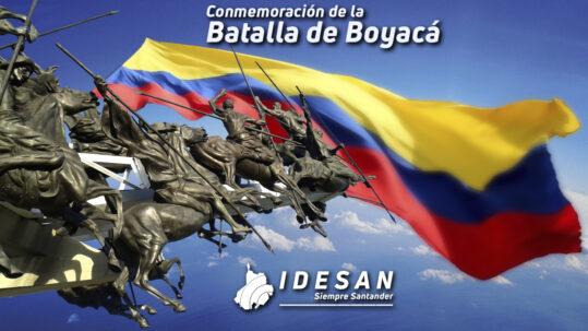 Batalla de Boyacá - Idesan 2021